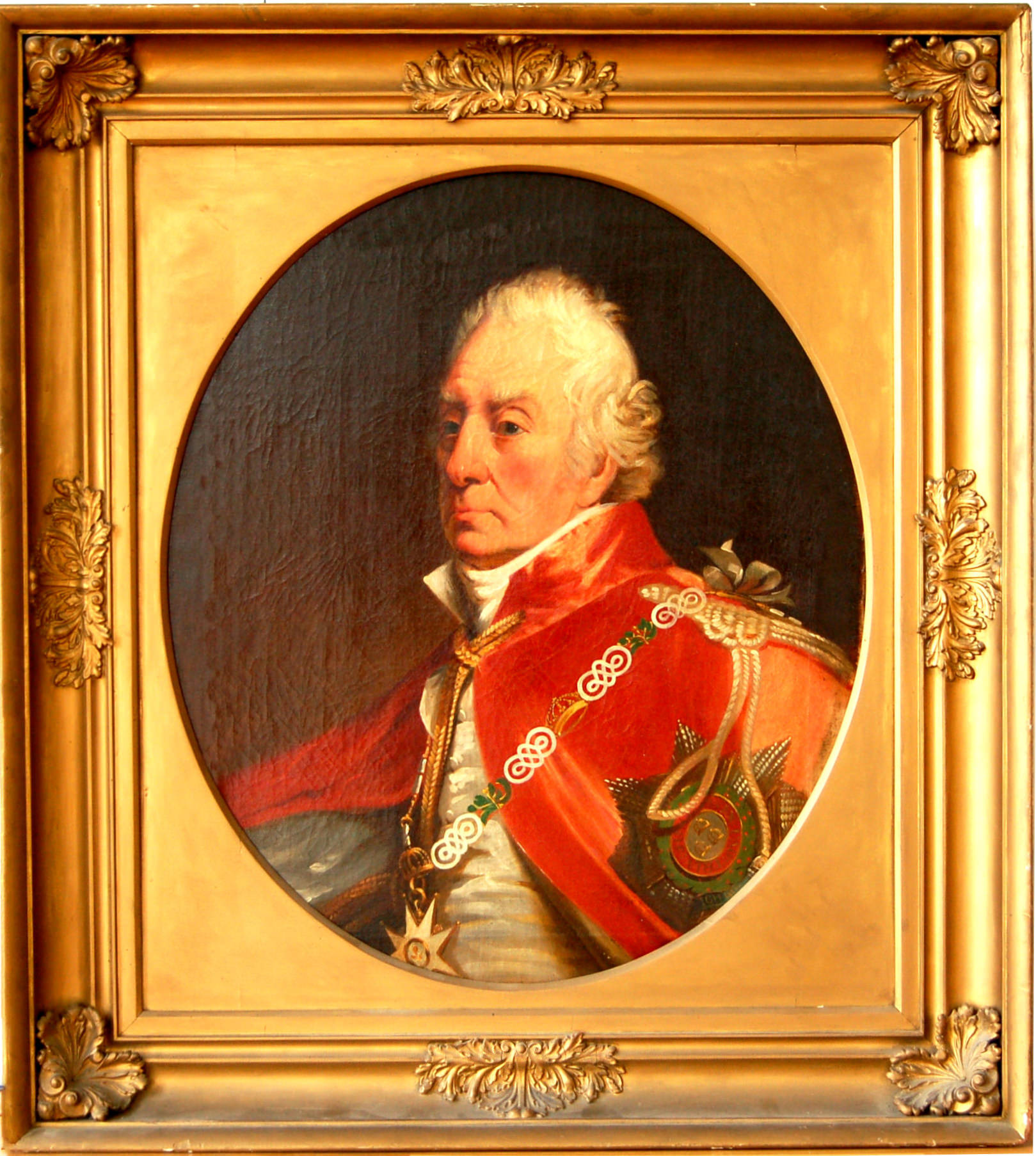 Admiral George Keith Elphinstone by George Sanders