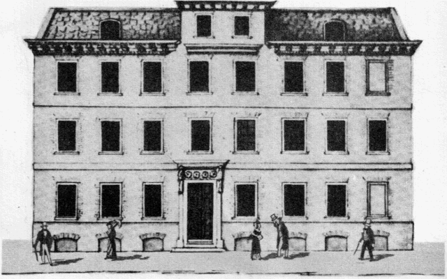 Borough or Brewery House 1833