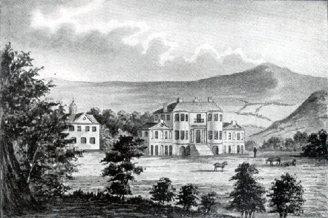 Brynbella rear façade 1799