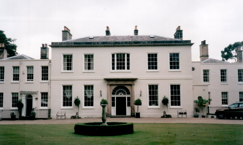 Brynbella front façade July 2001