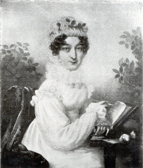Portrait of Cecilia Margaretta Thrale
