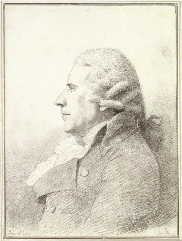 Gabriel Piozzi 1793 by George Dance