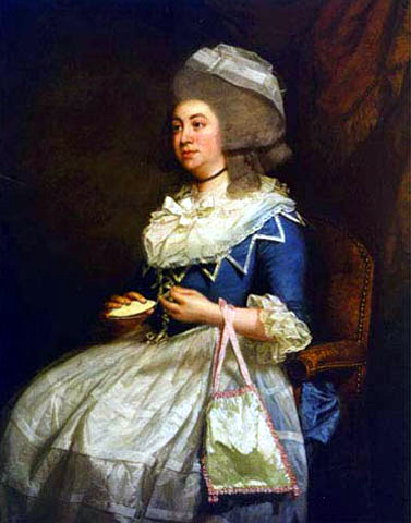 Hester Lynch Thrale by John Singleton Copley in 1778
