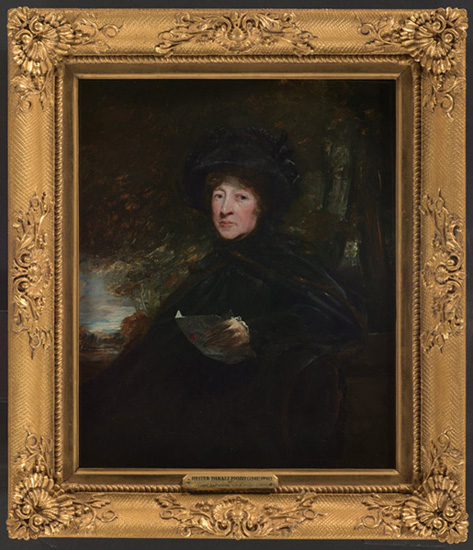 Hester Lynch Thrale by John Jackson 1810