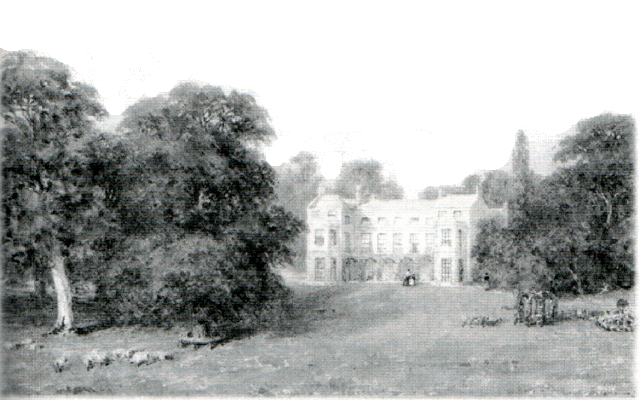 Marshal's Wick Mansion by Caroline Blake in 1825