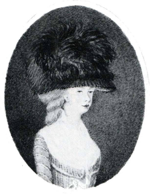 Hester Maria Thrale 1781 aged 17