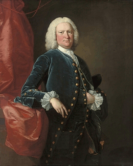 Ralph Thrale 1698-1758 after Thomas Hudson