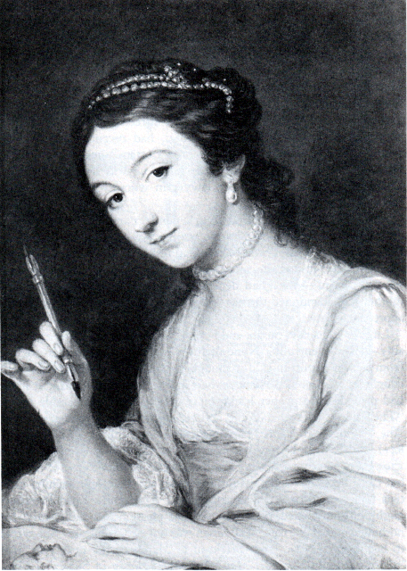 Portrait of Sophia Thrale