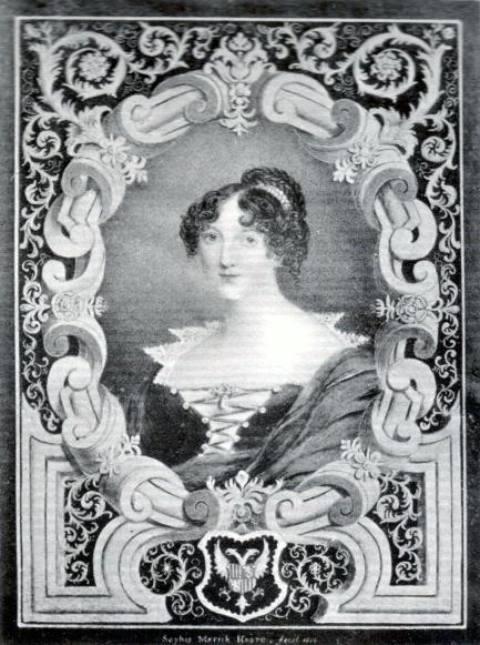 Portrait of Sophia Thrale