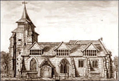 St Leonards Church, Streatham 1790
