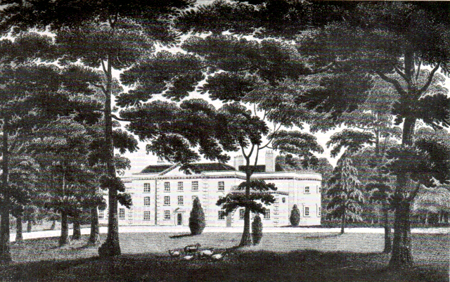 Streatham Park in 1792 by William Ellis