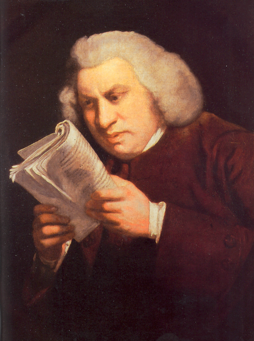Samuel Johnson by Sir Joshua Reynolds 1772