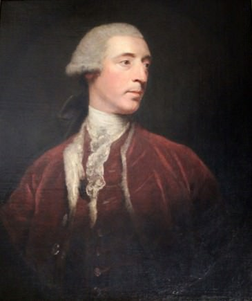 William Henry Lyttleton by Sir Joshua Reynolds in 1772