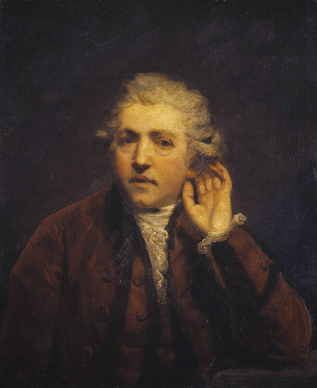 Sir Joshua Reynolds (self portrait) in 1775