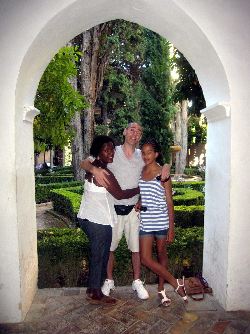 Michelle, David, Natasha