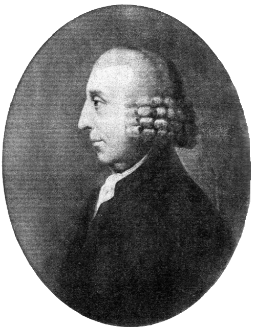 David Barclay. Born 1729, died 1809. Engraving after portrait by Johann Zoffany