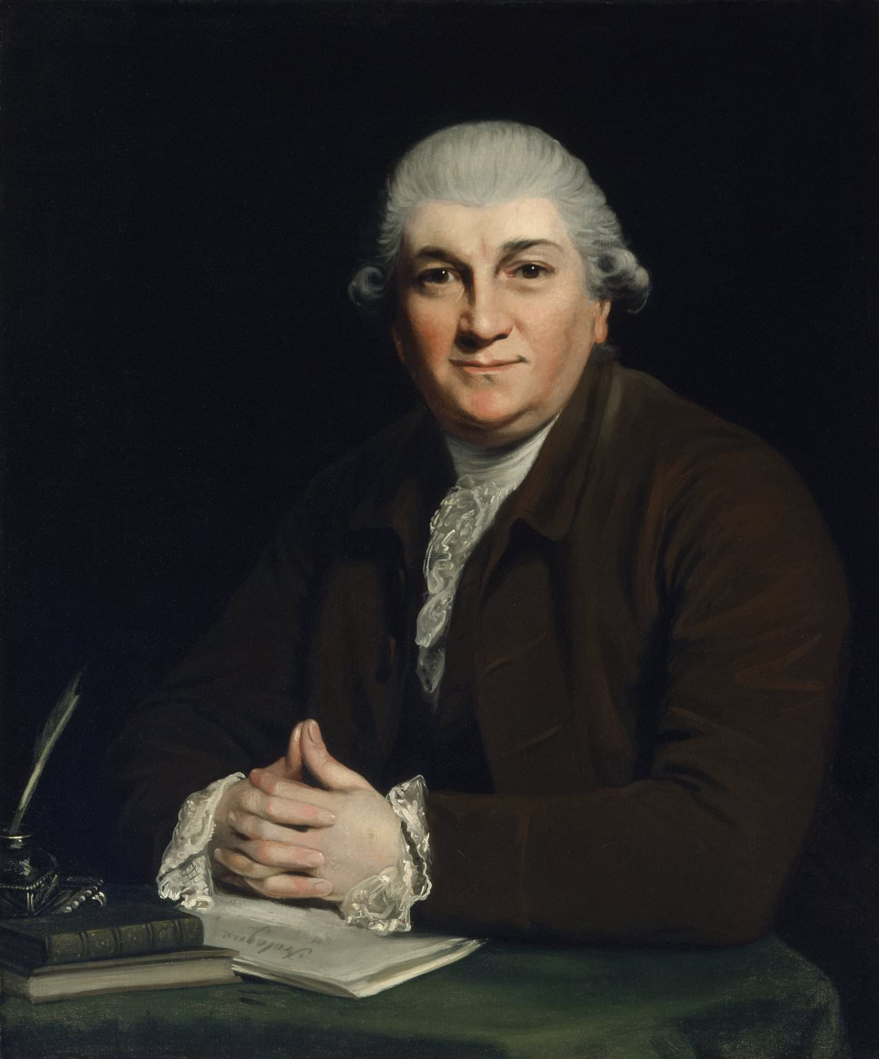 David Garrick by Joshua Reynolds in 1760 or 1761
