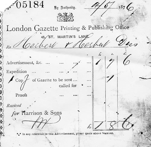 Nomansland excursion newspaper receipt