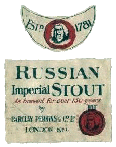 Russian Imperial Stout bottles