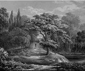 Summer House at Streatham Park by George Frederick Prosser