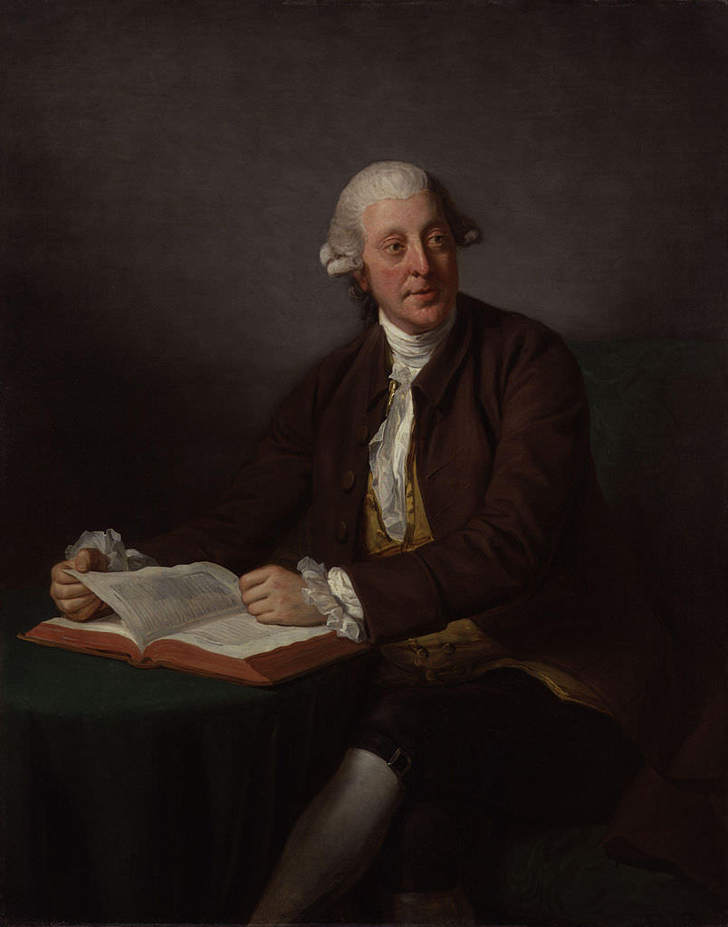 Arthur Murphy by Nathaniel Dance 1805. Commissioned by Hester Thrale's daughters